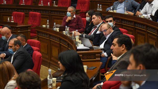Заседание Парламента (10 мая 2021). Еревaн - Sputnik Армения