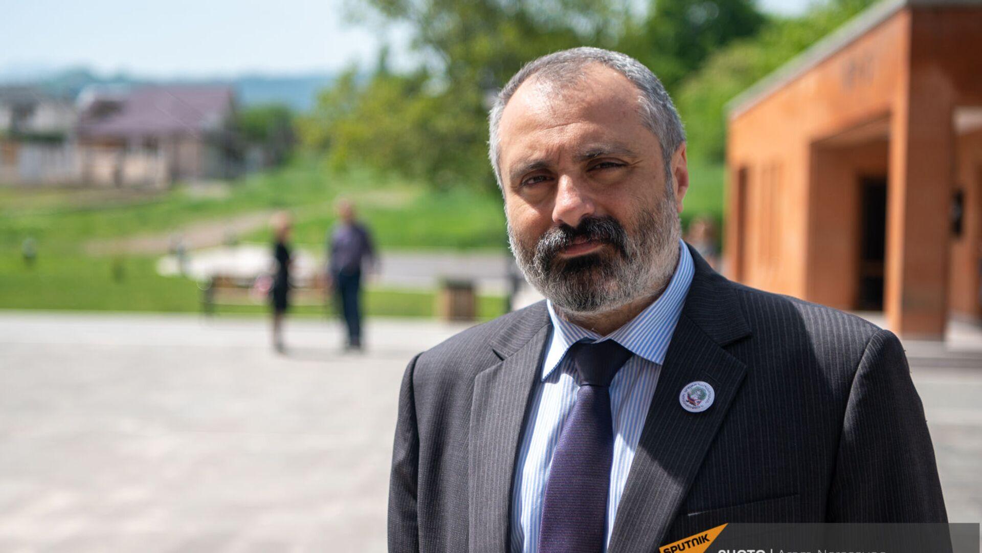 Министр иностранных дел НКР Давид Бабаян - Sputnik Армения, 1920, 27.05.2021