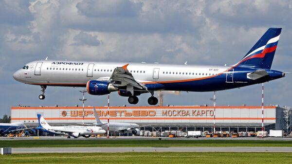 Самолет авиакомпании Аэрофлот - Sputnik Армения