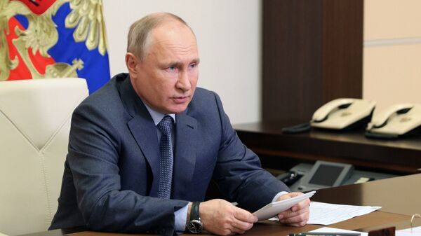 Президент РФ Владимир Путин  - Sputnik Армения