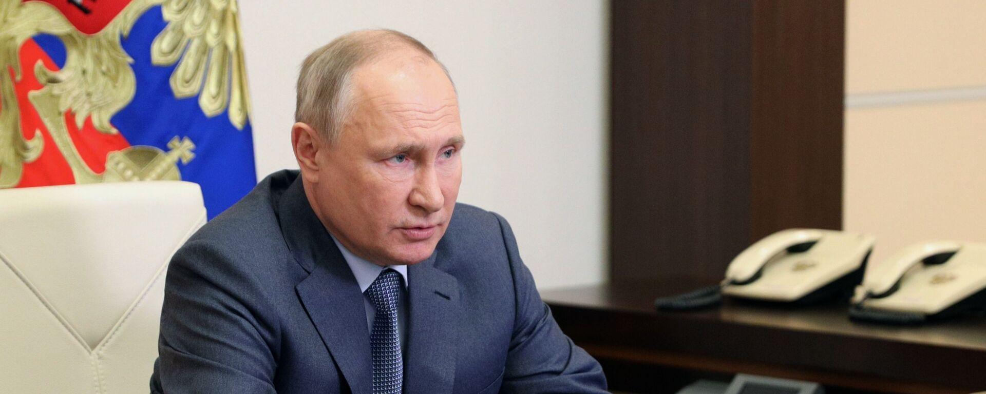 Президент РФ Владимир Путин  - Sputnik Արմենիա, 1920, 28.07.2021