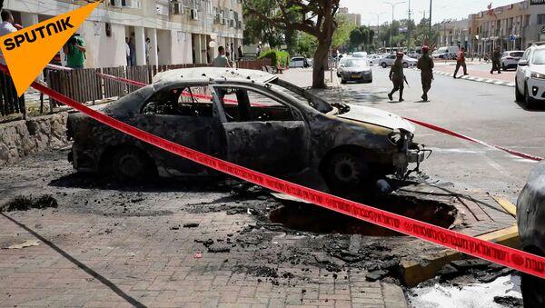 Более тысячи ракет и десятки погибших: что происходит в Израиле и Палестине - Sputnik Армения