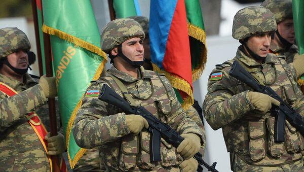 Военнослужащие азербайджанской армии - Sputnik Армения