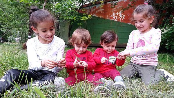 Дети семьи Ишханян - Sputnik Արմենիա