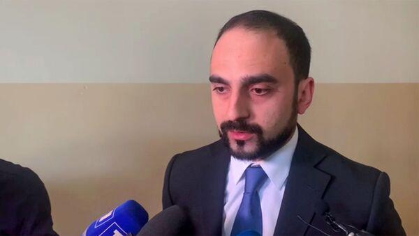 Вице-премьер Тигран Авинян отвечает на вопросы журналистов (14 мая 2021). Горис - Sputnik Армения