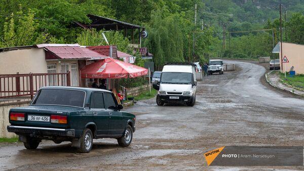 Дорога в селе Шош - Sputnik Армения