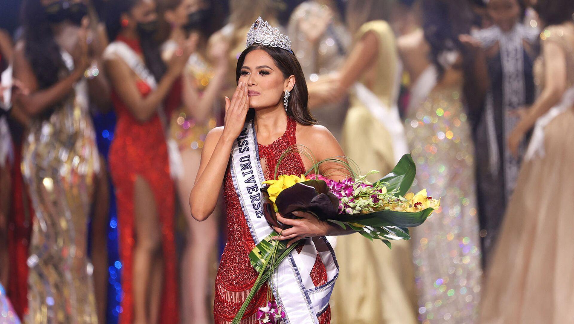 Мисс Мексики Андреа Меза победила в конкурсе Мисс Вселенная 2021 (16 мая 2021). Флорида - Sputnik Արմենիա, 1920, 17.05.2021