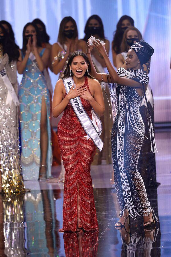 «Միսս Տիեզերք-2021» գեղեցկության մրցույթի մեքսիկացի հաղթող Անդրեա Մեսան - Sputnik Արմենիա