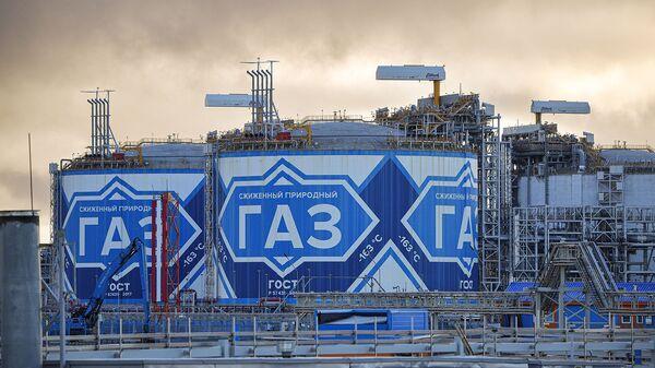 Завод по производству сжиженного природного газа Ямал СПГ - Sputnik Армения