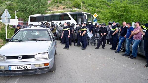 Конфликт между этническими азербайджанцами и сванами в Грузии  - Sputnik Армения
