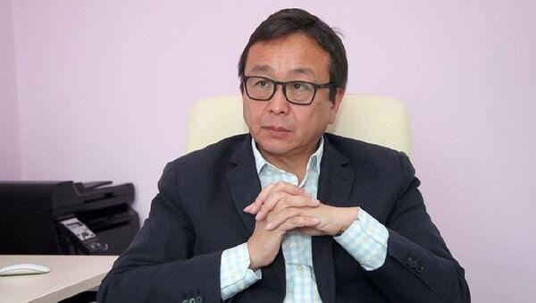 Президент Академии профилактической медицины Казахстана Алмаз Шарман - Sputnik Армения