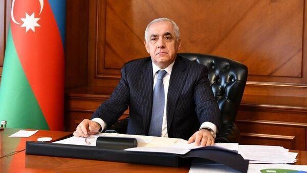Премьер-министр Азербайджана Али Ассадов - Sputnik Армения