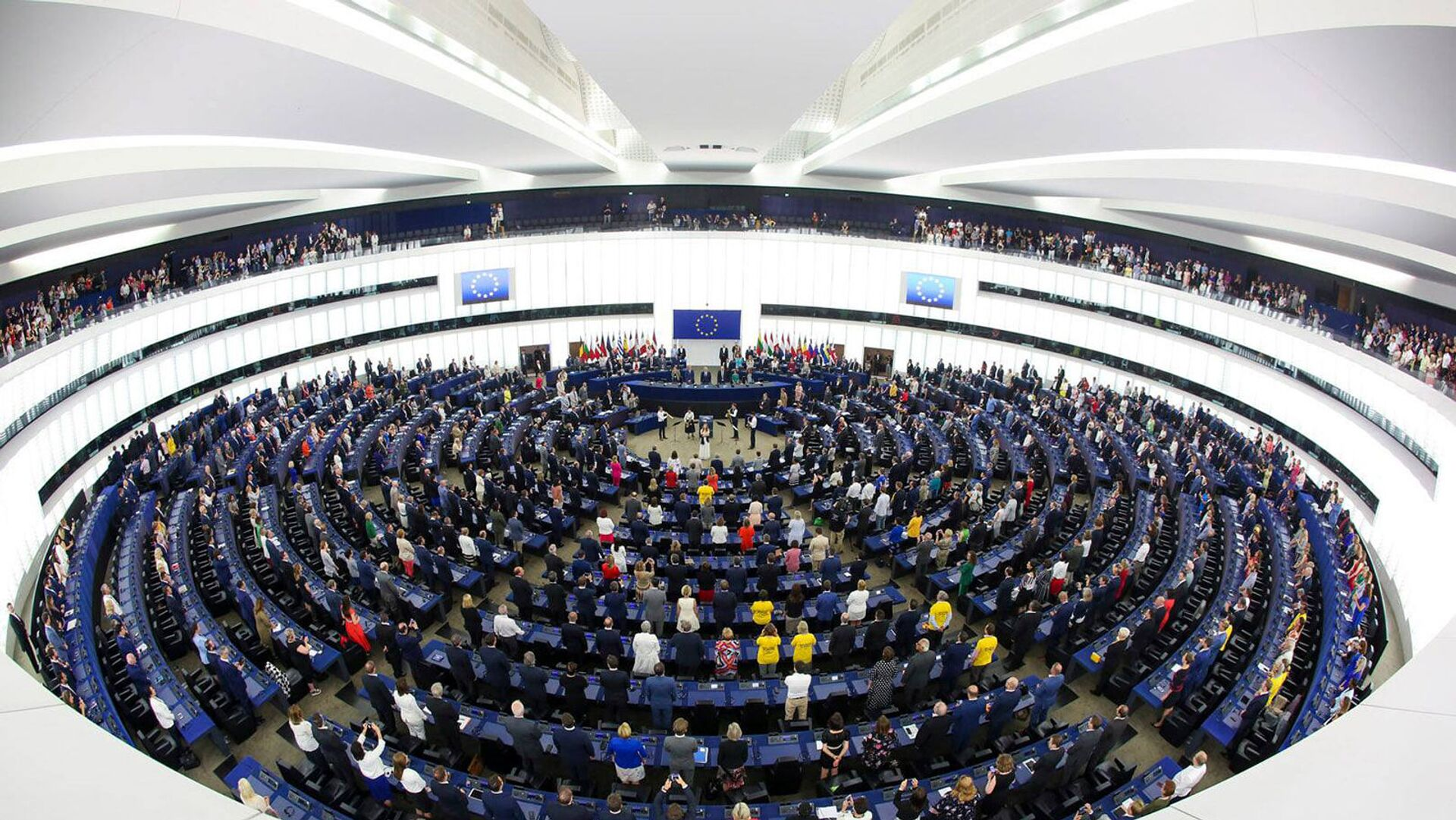 Пленарное заседание Европарламента (19 мая 2021). Брюссель - Sputnik Армения, 1920, 20.05.2021