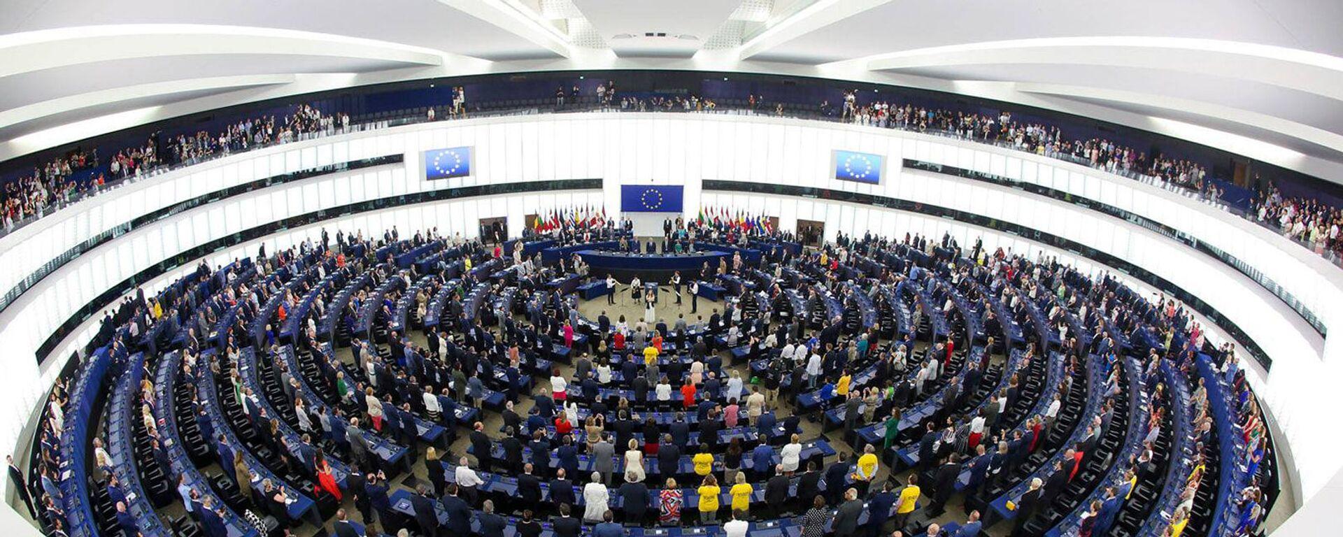 Пленарное заседание Европарламента (19 мая 2021). Брюссель - Sputnik Армения, 1920, 16.09.2021