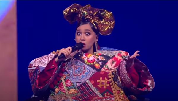 Выступление Манижи на Евровидении - Русская женщина - Sputnik Армения