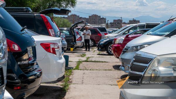 Рынок автомобилей в Ереване - Sputnik Արմենիա