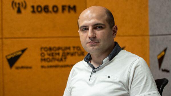 Политолог Норайр Дунамалян в гостях радио Sputnik - Sputnik Արմենիա