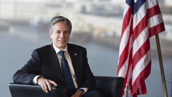 Госсекретарь США Энтони Блинкен - Sputnik Армения