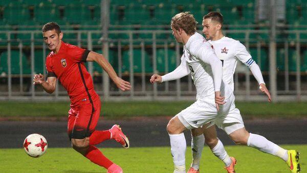 Давид Давидян в матче против ФК СКА - Sputnik Армения