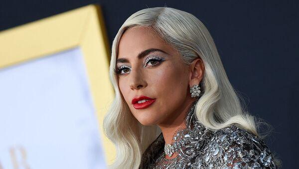 Леди Гага на премьере фильма «Звезда родилась» в Shrine Auditorium - Sputnik Армения