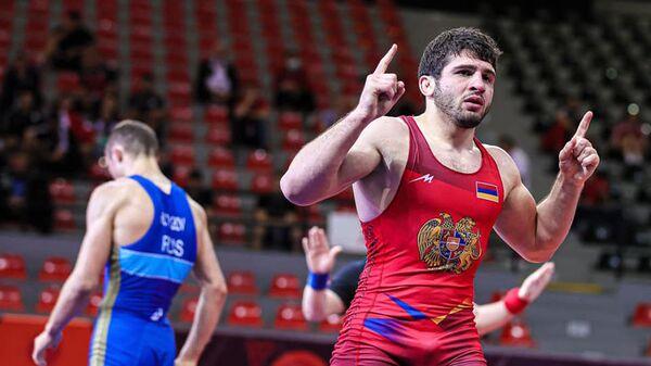 Борец Малхас Амоян - Sputnik Արմենիա