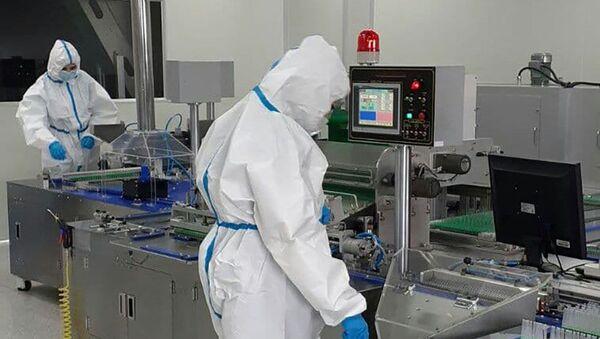 Завод медицинских принадлежностей SMD в Ереване - Sputnik Արմենիա