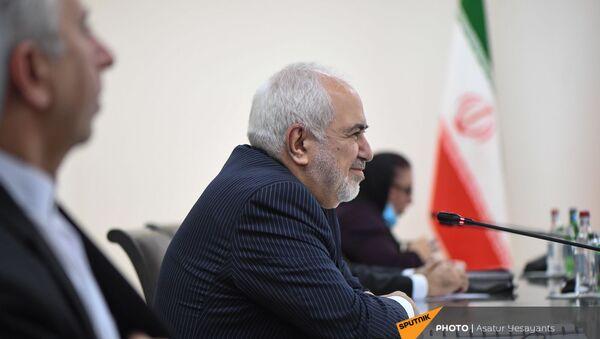 Министр иностранных дел Ирана Джавад Зариф в Ереване с официальным визитом 26 мая 2021 года - Sputnik Արմենիա