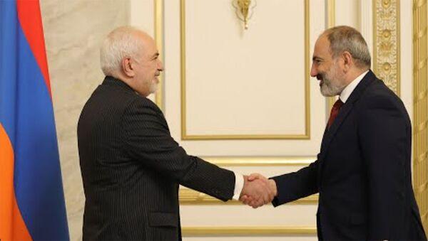 Նիկոլ Փաշինյանն ընդունել է Իրանի ԱԳ նախարարին - Sputnik Արմենիա