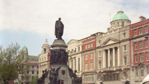 Памятник ирландскому политику Дэниелу О'Коннеллу работы скульпторов Джона Генри Фоли и Томаса Брока, открытый в Дублине в 1882 году. - Sputnik Армения