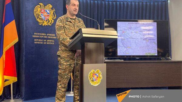 Замначальника Генштаба ВС Армении Эдвард Асрян - Sputnik Արմենիա