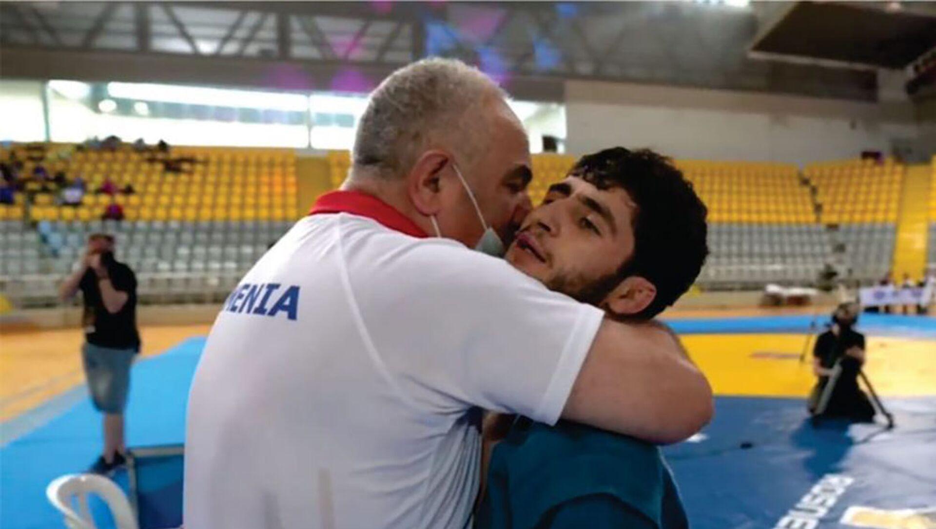 Чемпион Европы по самбо Давид Овсепян - Sputnik Армения, 1920, 27.05.2021