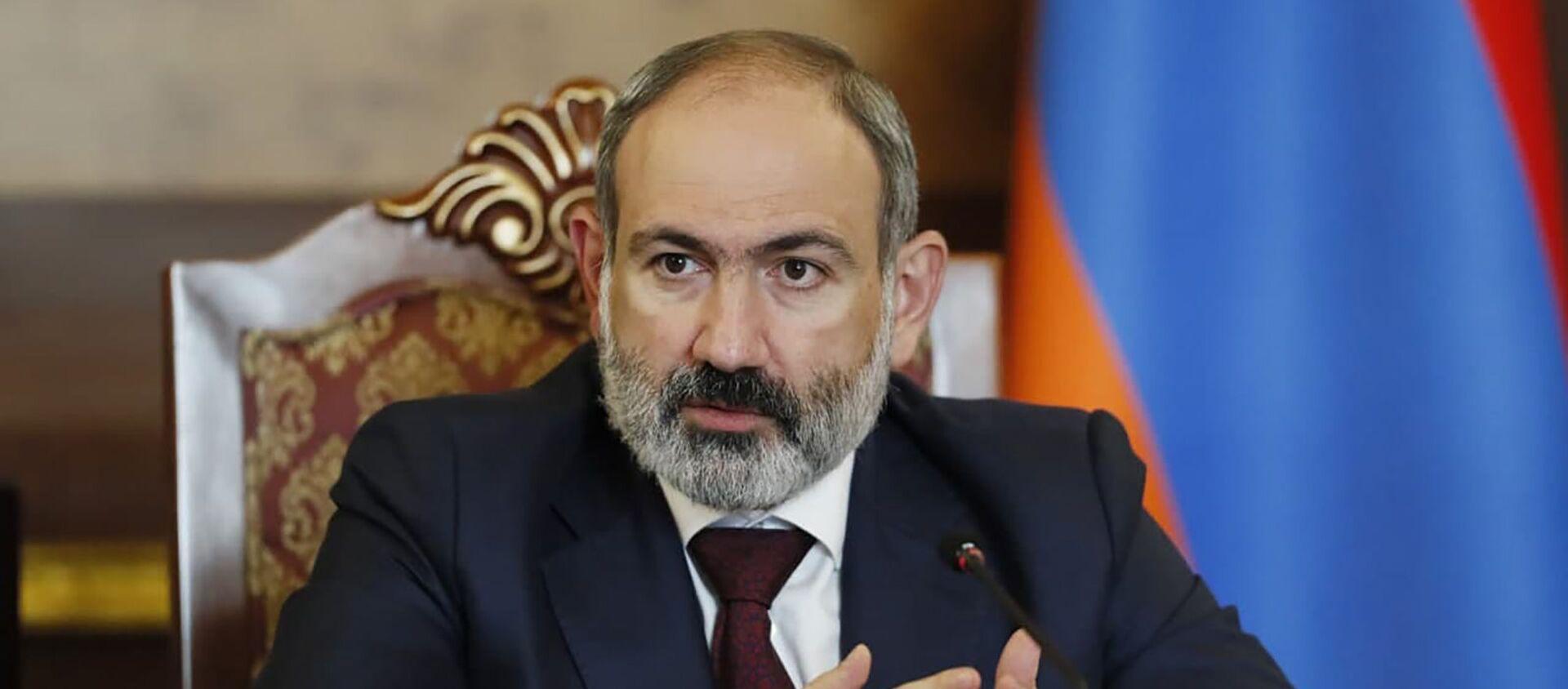 И.о. премьер-министра Никол Пашинян на заседании Совета безопасности Армении (27 мая 2021). Еревaн - Sputnik Армения, 1920, 28.05.2021