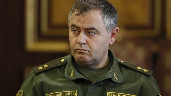 Глава Генштаба ВС РА генерал-лейтенант Артак Давтян - Sputnik Արմենիա