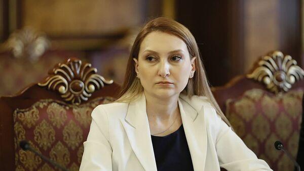 Руководитель фракции Мой Шаг Лилит Макунц - Sputnik Արմենիա