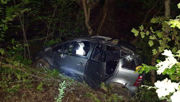 Дорожно-транспортное происшествие на трассе Лисагор - Бердзор (28 мая 2021). Карабах - Sputnik Армения
