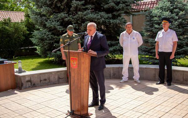 Երևանում բացվեց հայ-ռուսական բարեկամության հուշարձան - Sputnik Արմենիա