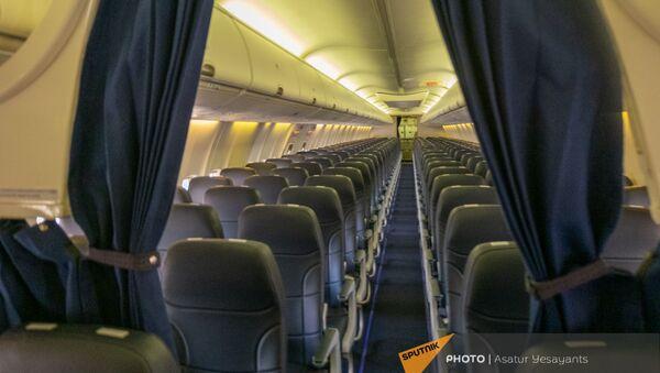 Салон нового Boeing 737–800 авиакомпании Armenia  - Sputnik Արմենիա