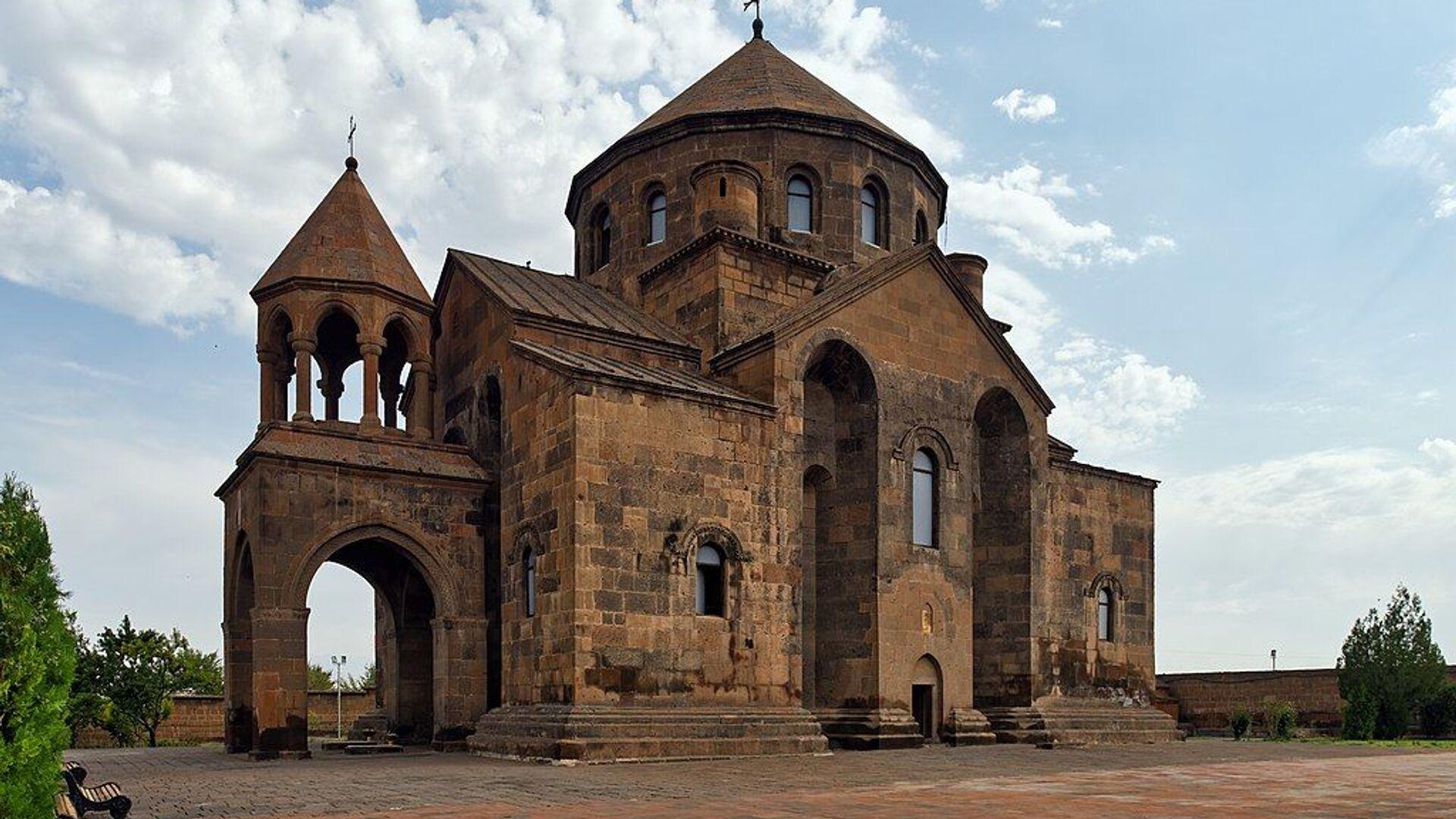 Церковь Святой Рипсиме в Эчмиадзине - Sputnik Армения, 1920, 25.09.2021