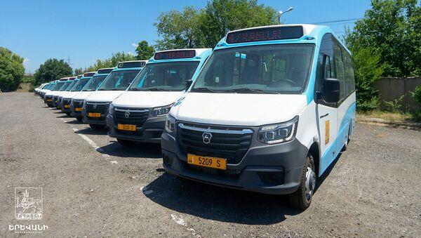 Мэрия Еревана сообщила об эксплуатации новых микроавтобусах с 1 июня - Sputnik Արմենիա