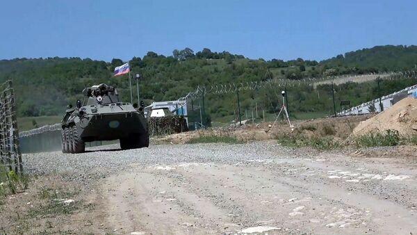 Российские миротворцы в Карабахе - Sputnik Армения