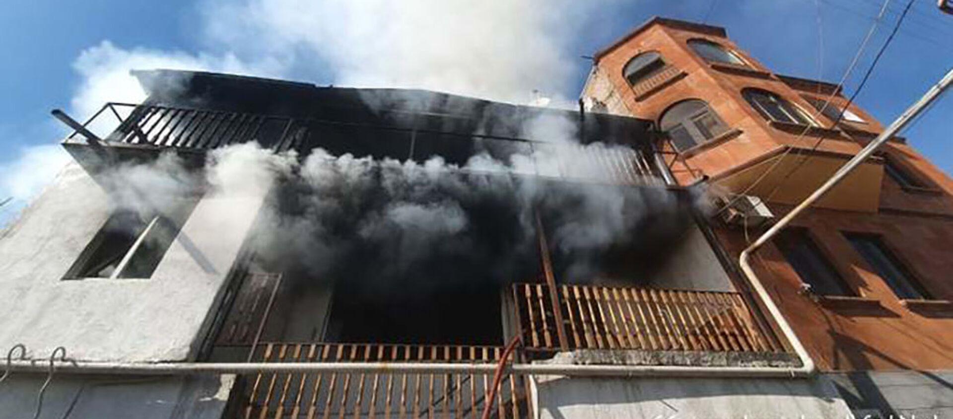 Пожар на улице Антараин - Sputnik Արմենիա, 1920, 03.06.2021