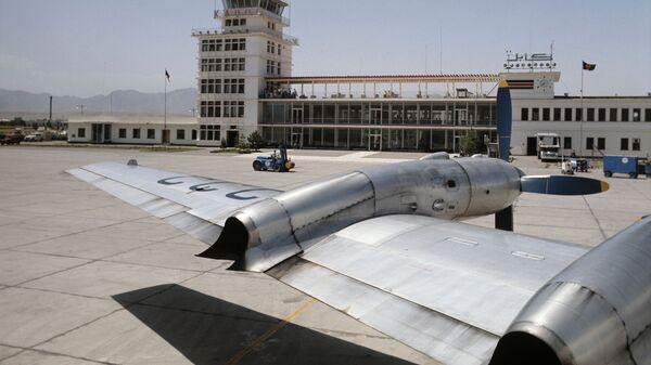 Международный аэропорт Кабул, построенный при экономическом и техническом содействии Советского Союза. - Sputnik Армения