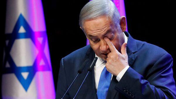 Премьер-министр Израиля Биньямин Нетаньяху на ежегодной конференции здравоохранения (27 марта 2018). Тель-Авив - Sputnik Արմենիա