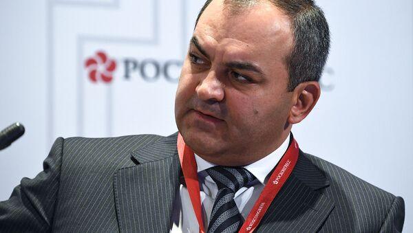Генеральный прокурор Армении Артур Давтян на пленарной сессии в рамках Петербургского международного экономического форума - 2021 (4 июня 2021). Санкт-Петербург - Sputnik Արմենիա
