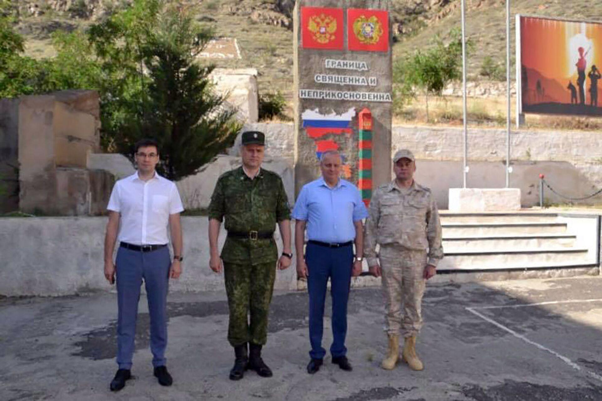 ՌԴ դեսպանն այցելել է Հայաստան-Իրան սահմանային ջոկատ. լուսանկարներ - Sputnik Արմենիա, 1920, 04.06.2021