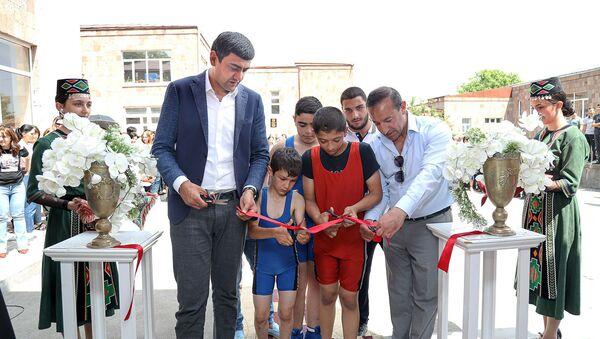 Церемония открытия спортивной школы в Горисе - Sputnik Արմենիա