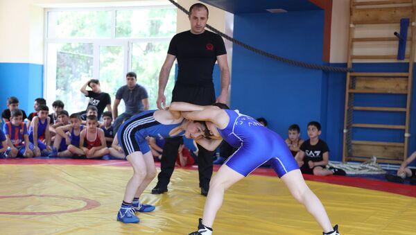 Церемония открытия спортивной школы в Горисе - Sputnik Армения