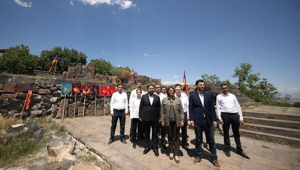 Движение 5165 стартовало предвыборную кампанию с села Ахцк (7 июня 2021). Арагацотн - Sputnik Արմենիա