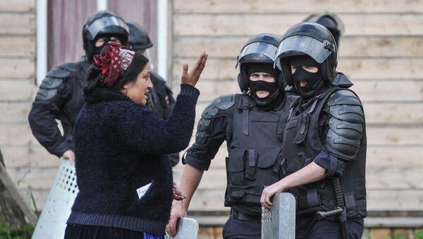 В Плеханово продолжается снос незаконных построек - Sputnik Արմենիա