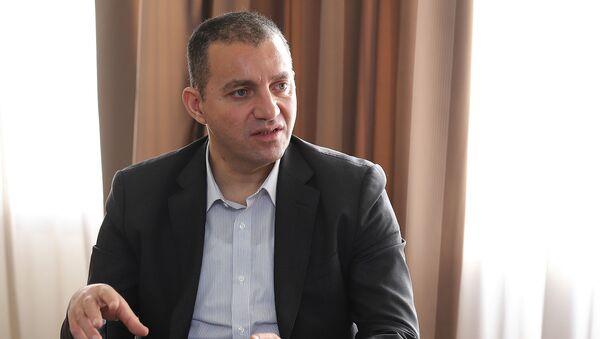 Министр экономики Ваган Керобян - Sputnik Армения